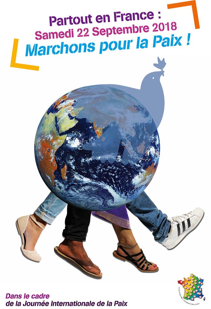 marchons pour la paix le 22 septembre 2018