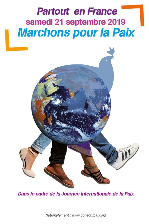 marchons pour la paix le 21 septembre 2019