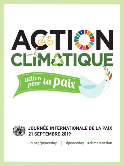 Action climatique, action pour la paix